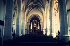Im Langhaus von St. Marien Blick zum Altar #diewocheaufinstagram #ausflug #church #freyburg