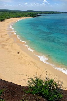 Big Beach - Maui, Hawaii-saw from the water need to go here next time