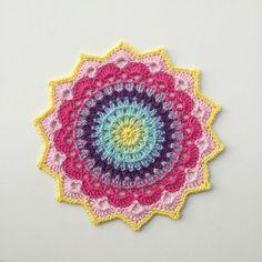 Pinteresting Projects: free crochet mandala patterns | LoveCrochet Blog | Bloglovin'