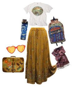 New style hippie rock outfit Ideas Boho Outfits, Skirt Outfits, Vintage Outfits, Summer Outfits, Cute Outfits, Fashion Outfits, Summer Skirts, Cute Hippie Outfits, Winter Outfits