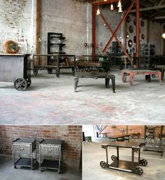 "industrial decorating | ... Angeles getting Cleveland Art's ""recycled industrial design"" - Core77"