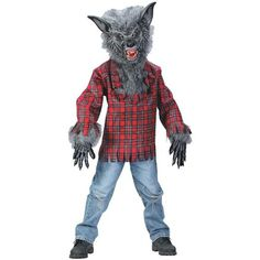 Child Werewolf Costume #Child #Werewolf #Costume