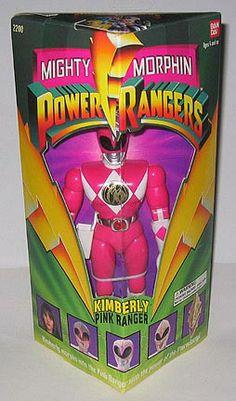 Mighty Morphin Power Rangers - Original Kimberly the Pink Ranger figure