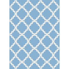 Metropolis 101031 Blue Area Rug (7'10 x 10'3)   Overstock.com Shopping - The Best Deals on 7x9 - 10x14 Rugs