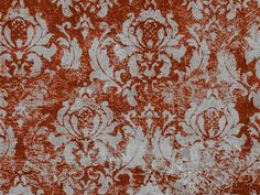 Printed on a fleece blanket material, the colors and print quality are vivid, they will not wrinkle and they wear like iron. Damask print background in grey and red. $79.95