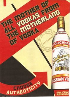SELLING AUTHENTICITY: STOLI VODKA AD