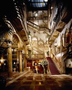 Hotel where we stayed when in Venice Italy. Amazing! Hotel Danieli
