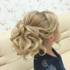 Bridal Hairstyles Inspiration : Lovely bridal look Make up hairstyles