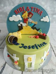 Bibi und Tina Torte - Bibi Blocksberg cake