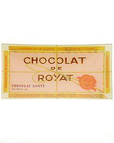 """Ben's Garden """"Chocolate de Royat"""" 4x9 Handcrafted Tray"""