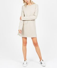 OATMEAL TERRY DRESS   Dresses   Clothing   Shop Womens   General Pants Online
