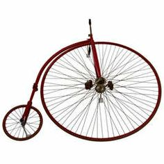 Graphic 1870 High Wheel Bicycle...~♥~