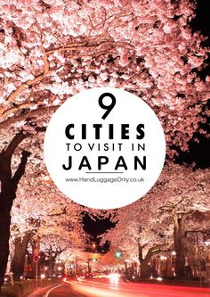 9 Very Best Cities In Japan To Visit Japan is a country that's so incredible to explore! From the stunning hiking trails, islands like Kyushu and the best cities in Japan to visit, there's a little slice of the country that I'm sure Kyushu, Japan Travel Guide, Asia Travel, Tokyo Travel, Travel Tourism, Italy Travel, Places To Travel, Travel Destinations, Places To Visit