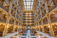 George Peabody Library 17 E Mount Vernon Pl, Baltimore, Maryland 21202 USA