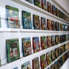 The opening of 'Ladybird by Design' at the De La Warr Pavilion - a wonderful wall of Ladybird books!
