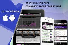 create attractive UI design by drockstar022