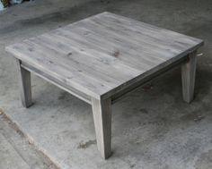 Oxidized coffee table. DIY. Before wax. www.thingstoshareblog.com