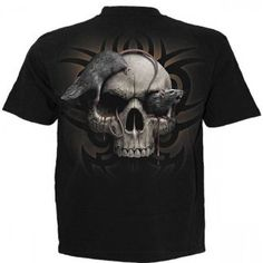 T-shirt homme avec tête de mort et rats Dark Knight Armory, Shops, Gothic Metal, Powerful Images, Simple Words, Skull Design, Long Sleeve Shirts, Graphic Tees, T Shirt