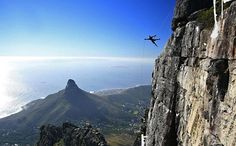 Experience the exhilaration and thrill of abseiling down a natural wonder of the world: Table Mountain!Abseiling Table Mountain is a thrilling experience of adrenaline and achievement. A 112 metre controlled descent off Cape Town's magnificent Activities In Cape Town, Cape Town Holidays, Cape Town South Africa, Table Mountain, Adventure Activities, Weekend Getaways, Wonders Of The World, Adventure Travel, National Parks