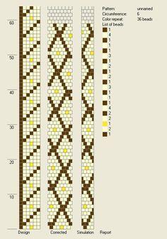 6 around bead crochet rope pattern - Cat Collar Bead Crochet Patterns, Bead Crochet Rope, Beading Patterns, Diy Crochet, Beading Tutorials, Jewelry Patterns, Bracelet Patterns, Plane Crafts, Origami Flowers Tutorial