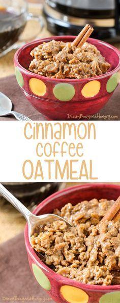 Cinnamon Coffee Oatm
