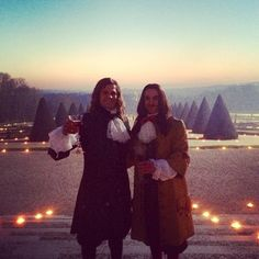 """""""Drinks at Versailles, chilling with The king"""" https://instagram.com/p/zAo6kJoDz5/"""