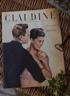 Vintage French fashion magazine @Etsy