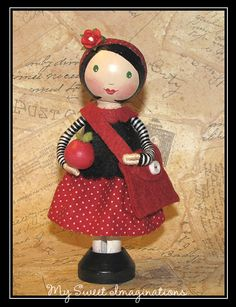 Clothespin Doll <3