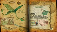Book Of Dragons - Scauldron page