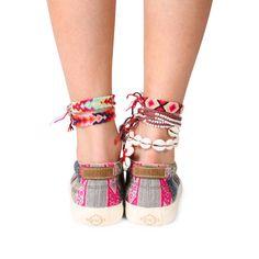 Slipo gris claro | MIPACHA Shoes | Spring/Summer 2015 | Handmade in Peru | Festival Shoes