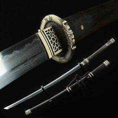 Samurai Concept, Concept Weapons, Katana Swords, Samurai Swords, Shuriken, Aikido Martial Arts, Saber Sword, Dragon Sword, Copper Dragon