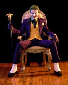 Anthony Misiano, le cosplay du Joker