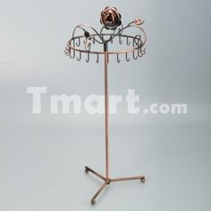 1Pcs Bronze T-052B necklace Display Stand,$16.63