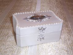 Personalized Wedding Ring Box Personalized by UniquelyMJK on Etsy