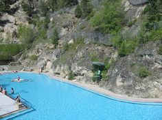 25 Hidden British Columbia Hot Springs, the above picture is Radium Hot Springs: I've been there Hot Springs Arkansas, British Columbia, Banff Canada, Canadian Travel, Packing Tips For Travel, Weekend Getaways, Travel Pictures, West Coast, Summer Fun