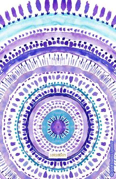 This artwork is part of a series of daily paintings where I combine two things I love – dancing and painting. Watercolor Pencil Art, Watercolor Mandala, Mandalas Painting, Watercolor Paintings, Scrapbook Background, Mandala Art Lesson, Aesthetic Iphone Wallpaper, Pattern Wallpaper, Diy Painting