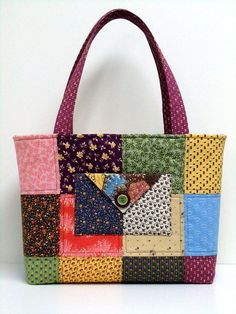 27 ideas for patchwork quilt bag Ideen für Patchwork-Quiltbeutelstoffe 27 ideas for patchwork quilt bag fabrics, # for quilt bag fabrics - Patchwork Baby, Patchwork Quilting, Tote Pattern, Bag Patterns To Sew, Quilted Tote Bags, Denim Bag, Fabric Bags, Handmade Bags, Purses And Bags