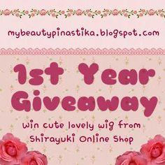 MyBeautyPinastika.Blogspot.Com GIVEAWAY :)))