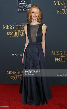 Actress Lauren McCrostie attends the 'Miss Peregrine's Home For Peculiar Children' New York premiere at Saks Fifth Avenue on September 26, 2016 in New York City.