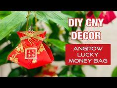 賀年摺紙| DIY Chinese New Year Red Packet Decor | Easy Angpow Lucky Money Ba...