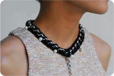DIY | JewelMint x SwellMayde Braided Pearl Necklace
