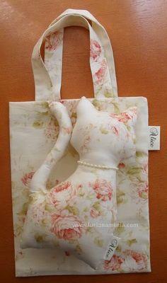 Girafinhas de tecido | Luciana Murta