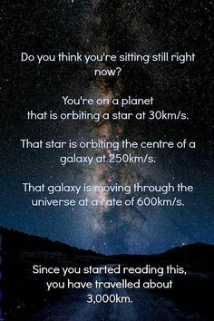 pretty amazing when you stop to think about it!