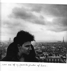 "Bono photographed in Paris - Anton Corbijn says in his book ""U2 & Me"" this was for a long time one of his favourite pictures of Bono"