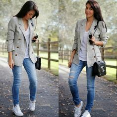 Casual, very cool long blazer