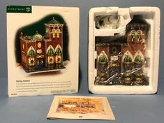 Department 56 Christmas in the City Sterling Jewelers, RARE! Sterling Jewelers, Christmas In The City, Department 56, Wooden Jewelry Boxes, Silver Diamonds, Diamond Jewelry, Jewels, Holiday Decor, Sterling Silver