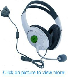 HDE Headset for Xbox 360 Console and Live Service Two Pack Headphone and Microphone for Game Chat Compatible with Wireless Controllers Xbox 360 Headset, Xbox 360 Controller, Gaming Microphone, Gaming Headphones, Xbox 360 Repair, Xbox 360 Console, Video Games Xbox, Headphone With Mic, Video Game Console