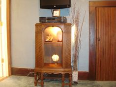 Vintage radio conversion to wine rack | Merv's Recreations ...