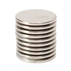 10PCS 25x2mm N35 Strong Round Rare Earth Neodymium Magnet