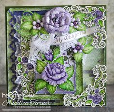 New Classic Rose Collection from Heartfelt Creations